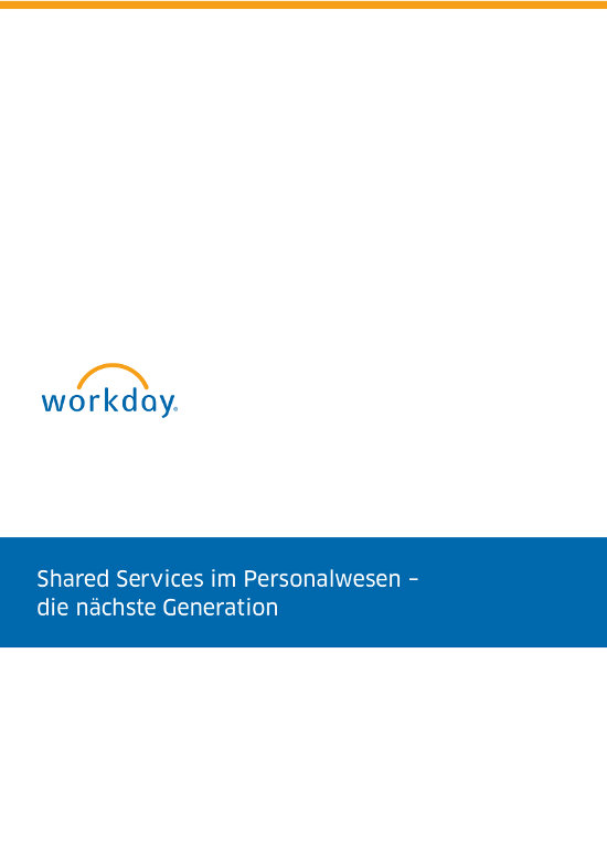 Shared Services im Personalwesen