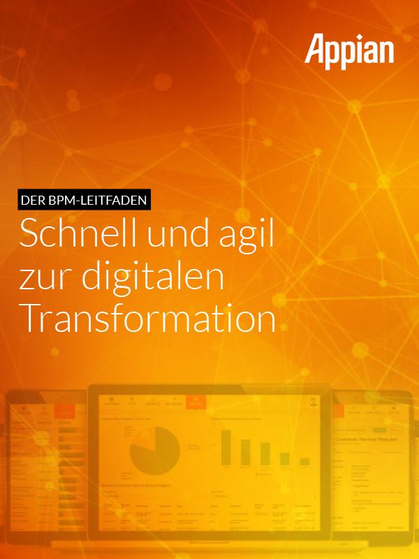Leitfaden für agiles digitales Geschäftsprozess-Management