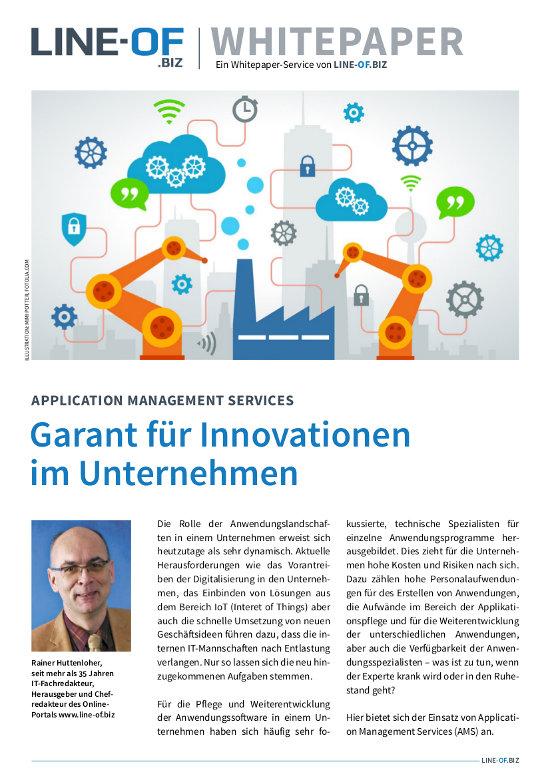 Application Management Services schaffen Kapazität für das Wesentliche