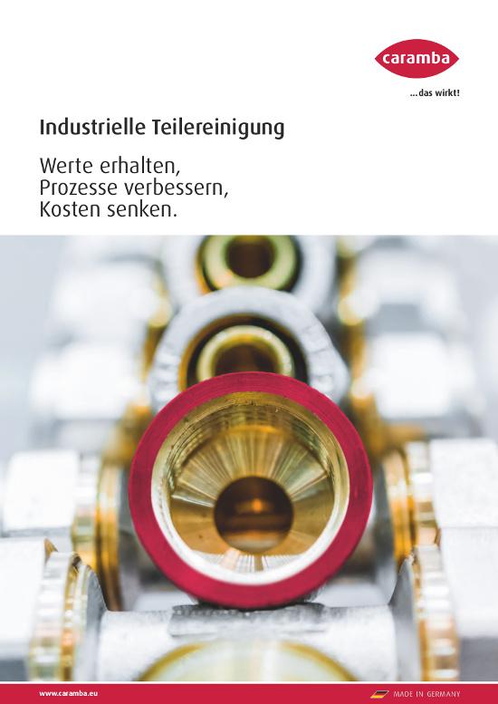 Wege und Mittel für optimale Teilereinigung im industriellen Bereich