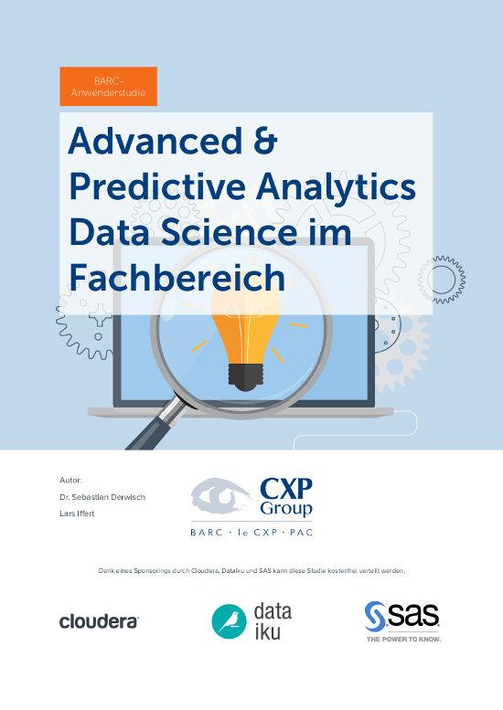 Advanced & Predictive Analytics wird zur Fachbereichssache