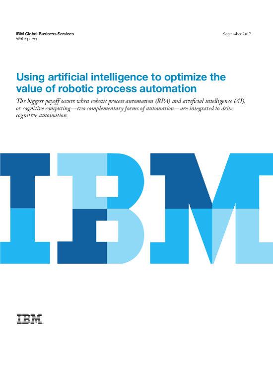Intelligenz-Schub für Robotic Process Automation