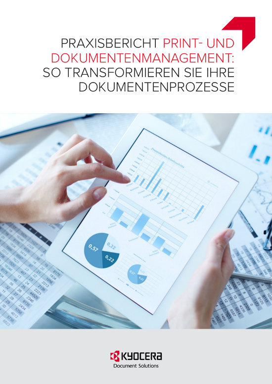 Mit Print & Document Management Geschäftsprozesse optimieren