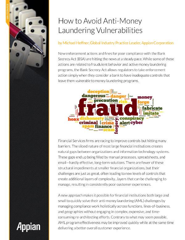Anti-Geldwäsche-Bemühungen intensivieren und automatisieren