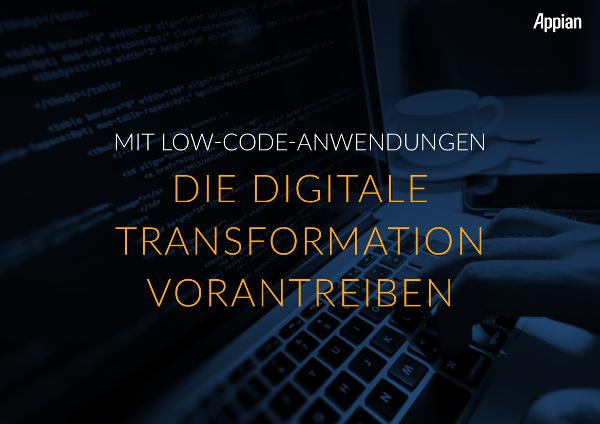 Mit modernem BPM das Low Code-Potenzial ausschöpfen