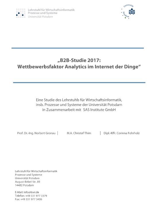 Das IoT-Nutzungsniveau in der deutschen Wirtschaft