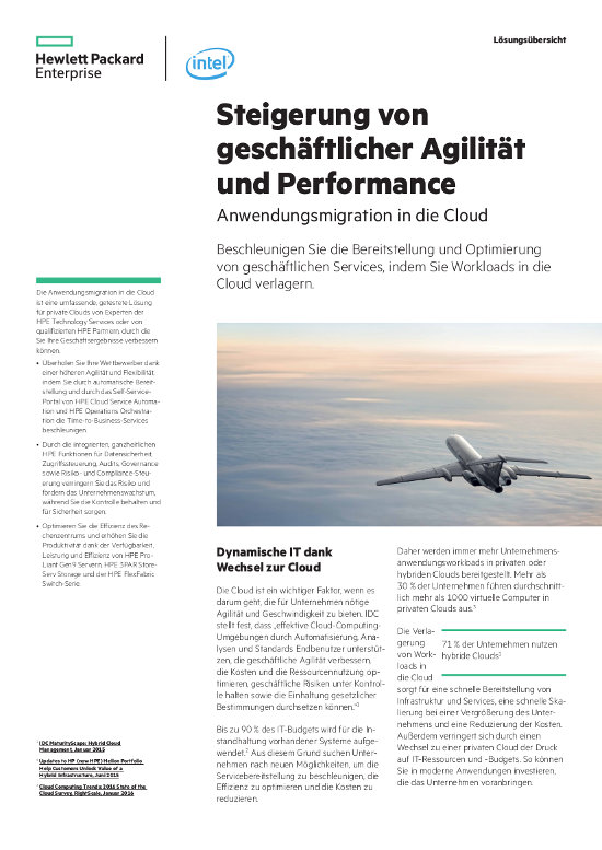Anwendungsmigration in die Cloud