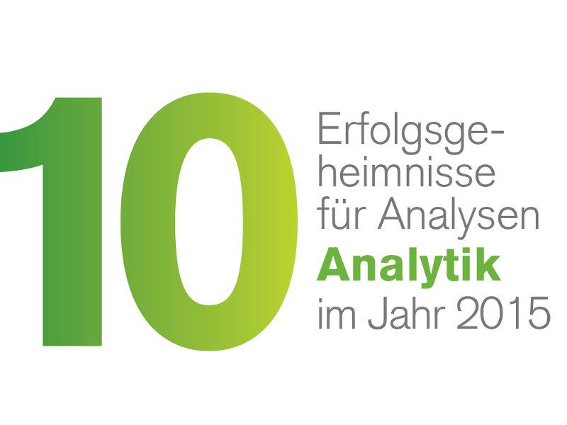 Schlüsselkriterien für erfolgreiche Datenanalyse